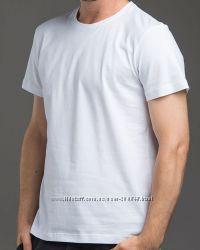 Мужские однотонные футболки разные цвета