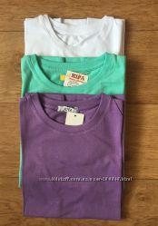 Детские футболки однотонные и с принтом
