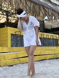 Женская тонкая пляжная туника распродажа