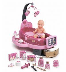 Игровой центр по присмотру за куклой baby nurse с пупсом SMOBY