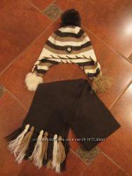 Шапка и шарф для девочки Wojcik