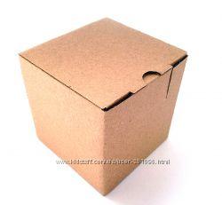 Картонные коробочки самосборные для посылок