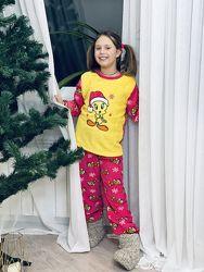 Пижама детская, подростковая из флиса