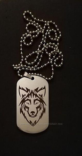Цепочка с подвеской Волк