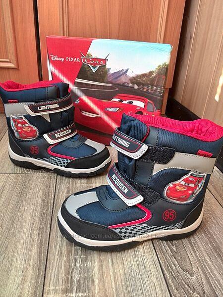 Сапоги -ботинки Disney Тачки Маквин 25, 29, 30 р Бельгия