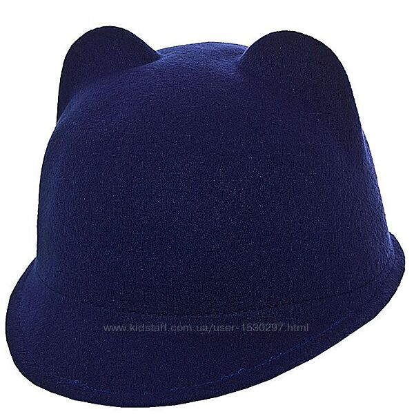Шляпа жокейка фетровая 52-54, 56-58