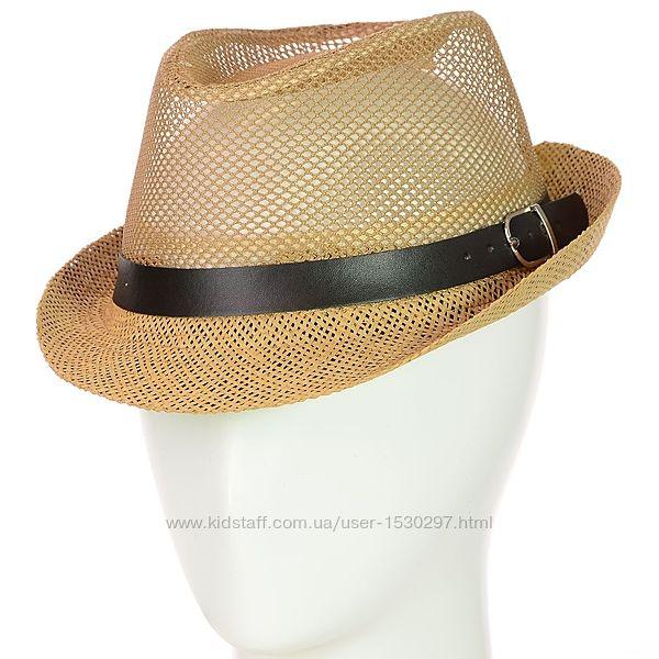 шляпы челентанки детские сетка и соломка
