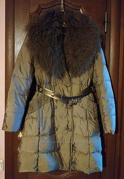 Новое пуховое женское пальто. М