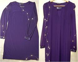 Фиолетовое сиреневое платье на все случаи жизни р.4814 Dorothy Perkins