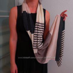 Красивая женская шарф-шаль, трикотаж мягкий как кашемир как НОВЫЙ недорого