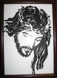 Панно Иисус Панно Волк