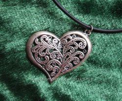 Ажурное сердечко для романтичной