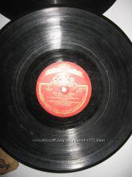 Пластинки 50х годов скорость 33 для декора