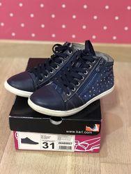 Кеды - ботинки для девочки. Италия. Taccardi.