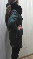 Куртка зимняя мех песец