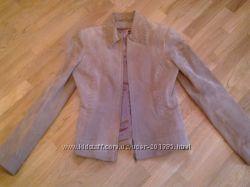 Кожаная курточка-пиджак
