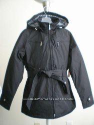 Фирменная утеплённая куртка черная с капюшоном Weather Tamer USA p M, L