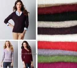 Шерстяные дорогие свитера LOFT Ann Taylor США вязка косички - разные цвета