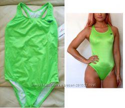 Яркий спортивный  салатовый купальник SPEEDO USA 34y. e, p S-M
