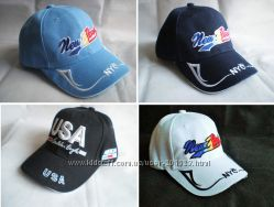 Фирменные Бейсболки Кепки LANZA USA  унисекс разные цвета