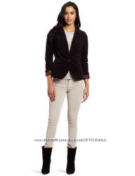 пиджак Calvin Klein США 120y. e, р. S-M - вельвет черный, подкладка леопард