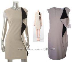 Стильное элегантное деловое платье Calvin Klein USA, р S, М
