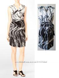 Стильное элегантное черно-белое платье Calvin Klein USA,  р S, M