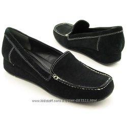 Черные туфли балетки  BANDOLINO замшевая кожа, р 36, 37 - оригинал из США