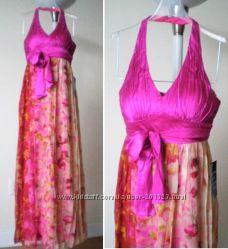Шикарные дорогие макси платья - Шёлковое SPIGEL USA, Calvin Klein, p S, M