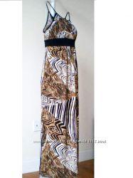 Макси платье сарафан AGB, Calvin Klein, H&M, Jessica Simpson р S M L