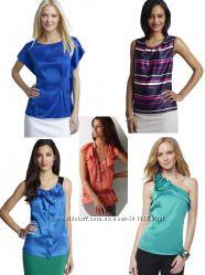 Дорогие шелковые шифоновые блузки шелк США р XS, S, M, L, XL  Большой Выбор