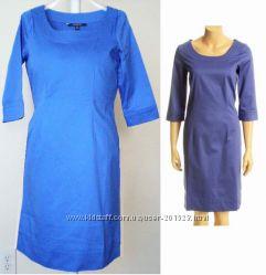 Платья натуральное голубое красное Taylor, Calvin Klein, Anne Klein  S, M,