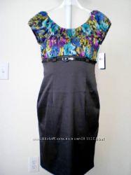 Красивое деловое нарядное платье AGBdress, Merona, Calvin Klein p M, L
