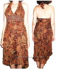 Платье Сарафан Шелк Шифон из США Taylor, Talbots, Calvin Klein  р S, M, L