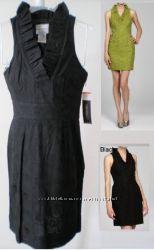 Красивое чёрное натуральное платье из США, Calvin Klein, Аnn Taylor р S, M