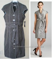 Стильные деловые платья США - Большой выбор Sweet Calvin Klein Talbots М L