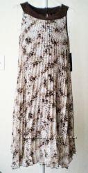 Дорогое плиссированное шифоновое платье Essentials ABS, Calvin Klein Taylor