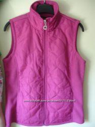 Жилетка розовая - флисовая - впереди плащевка Marisa Christina USA 65у. е