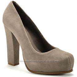 Туфли CARLOS SANTANA из США - натуральный замш кожа р 39-40 - очень удобные