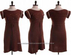 Шерстяное вязаное дорогое платье MAX STUDIO USA - размер S, M - Оригинал