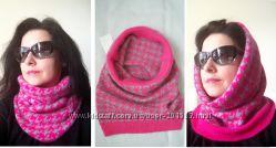 Капор Хамут манишка шапка шарф Н&М США -  очень тёплый и мягенький