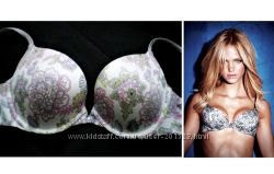 Красивый  цветной бюстик Victoria Secret USA с кристалликом Swarovski 75С-D
