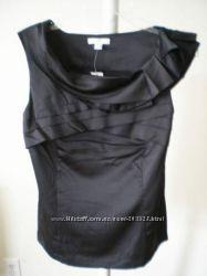 Кутюрные шикарные чёрные блузки в стиле Chanel из США - р S, М, Л