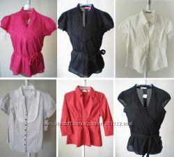 Красивые натуральные хлопковые  котоновые блузки из США