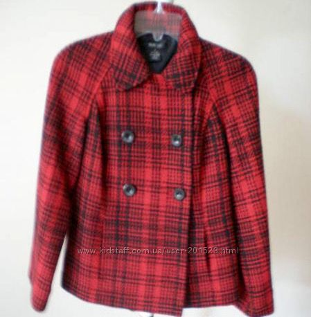 Style & Co USA полупальто жакет шерстяной - куплено в NORDSTROM, р XS- S