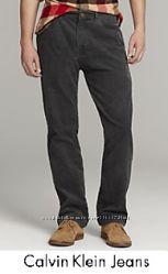 Calvin Klein Jeans мужские вельветовые джинсы, оригинал из США р 33 32 х 32