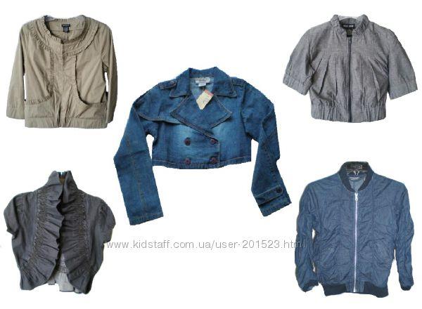 Стильные джинсовые и котоновые пиджаки из США - Большой выбор