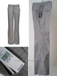 Фирменные серые натуральные брюки A BYER и CALVIN KLEIN - оригинал из США