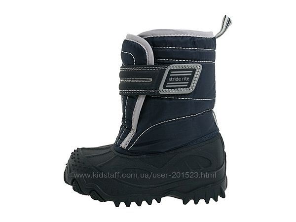 Непромокаемые зимние тёплые термо сапоги ботинки Stride Rite размер 19, 20