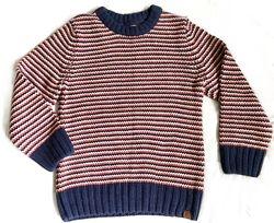 LOGG Фирменный тёплый свитер коттон шерсть вискоза на мальчика 4-6 лет